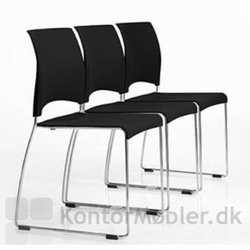 Tre Sting stole i opstilling