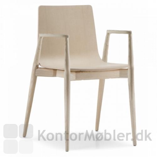 Malmö mødestol med armlæn