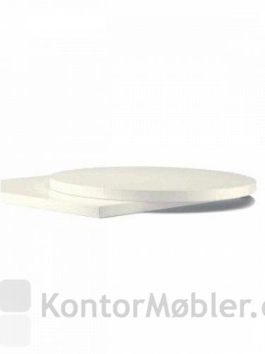 Bordplade i hvid melamin