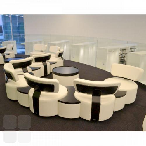 Circles modulsofa i lounge indretning