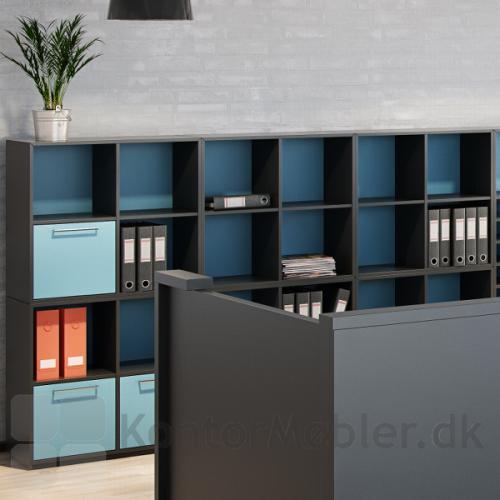 Delta 2.0 bogkasse giver mulighed for unik opbevaring