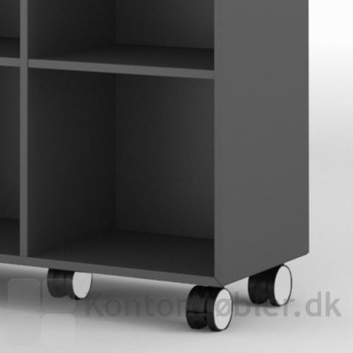 Delta 2.0 bogkasse med hjul, er perfekt til den fleksible indretning