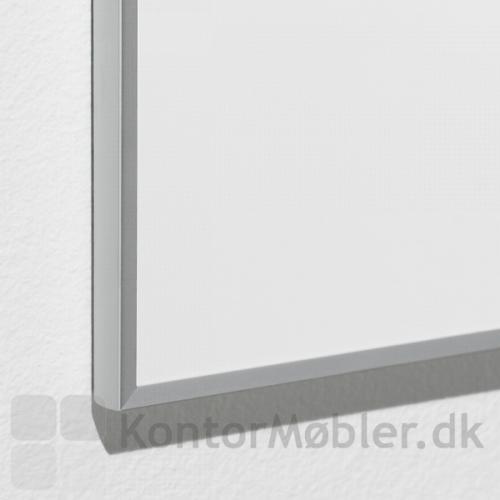 Whiteboard Boarder med gerede hjørner