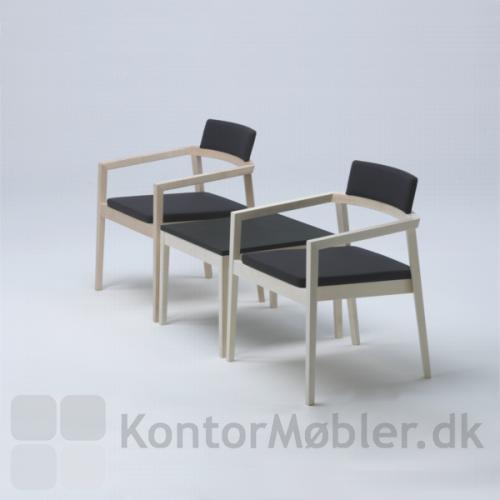 Session bord kombineret med Session lounge stole