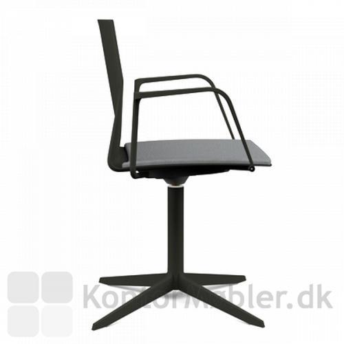 Evo stol med loop armlæn
