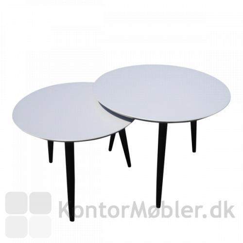 Runde loungeborde i højde 45 cm og 50 cm