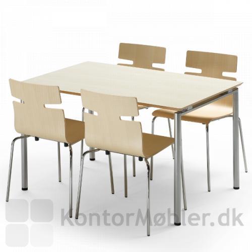 Zing bord med whisper stole i finer