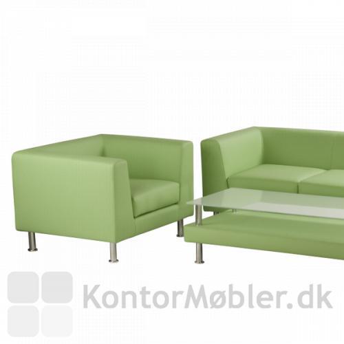 Notre dame serie, her ses stol, bord og sofa