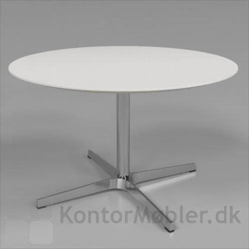 Frigg lounge bord med hvid bordplade