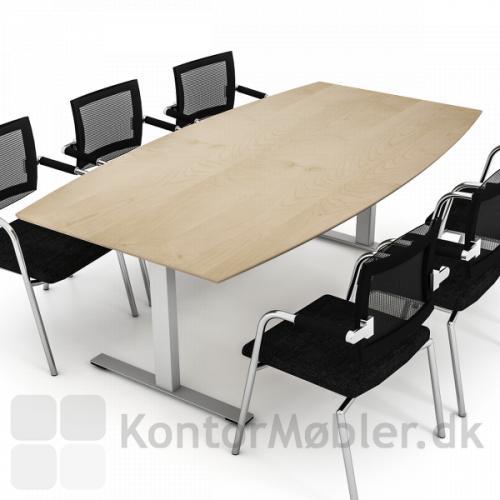 Delta konferencebord med ahorn laminat overflade