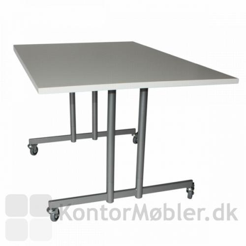 Flip bord der er nemt at folde sammen, med 4 låsbare hjul