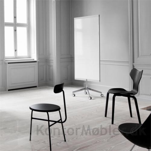 M3 mobil whiteboard med hjul, er nem at flytte
