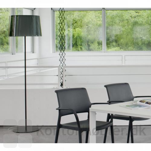 Look gulvlampe giver indretningen et flot look