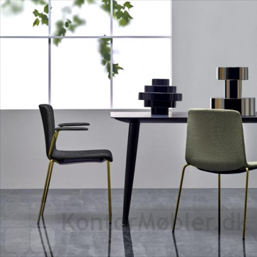 Babila mødebord i sort, kan også bruges som spisebord