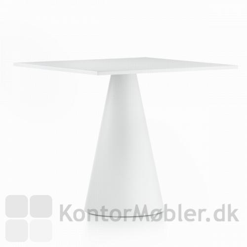 Ikon 865 bordet er 71 cm højt - vælg bordet i sort eller hvid