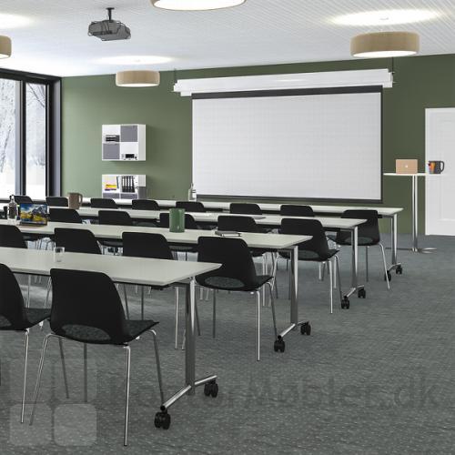 Flip top bordet er også perfekt til undervisning og konference