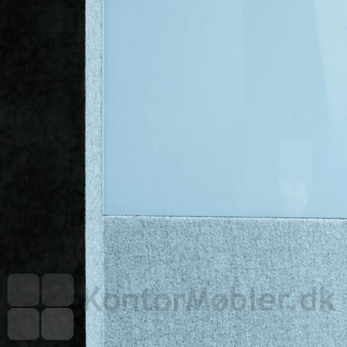 Blazer Lite stof giver en flot kontrast til Mood glastavlen