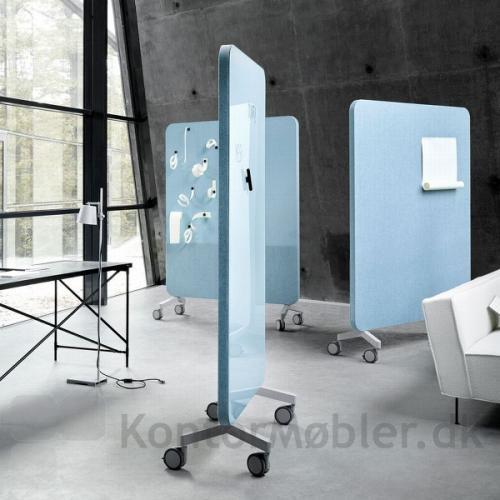 Mood Fabric Mobile kan også bruges som lyddæmpende fleksible skillevægge