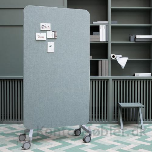 Mood Fabric Mobile med glastavle på den ene side og stof på den anden side