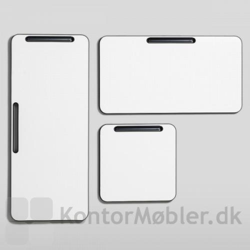 Note whiteboard i forskellige størrelser