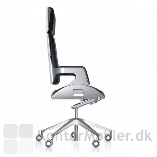 Silver kontorstol har vægt
