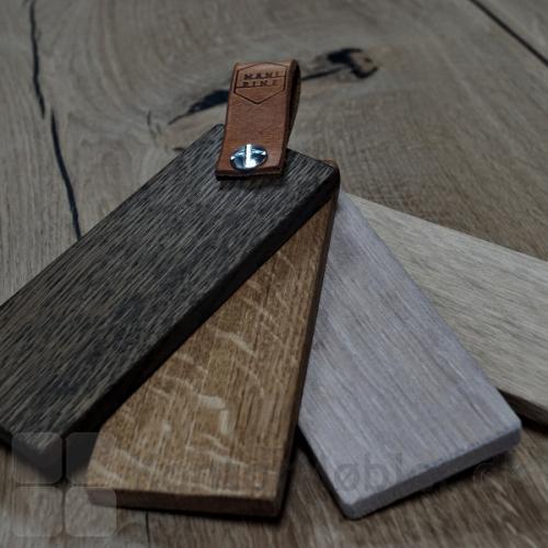 Mani Pine bordplade i eg, kan vælges med forskellig overfladebehandling