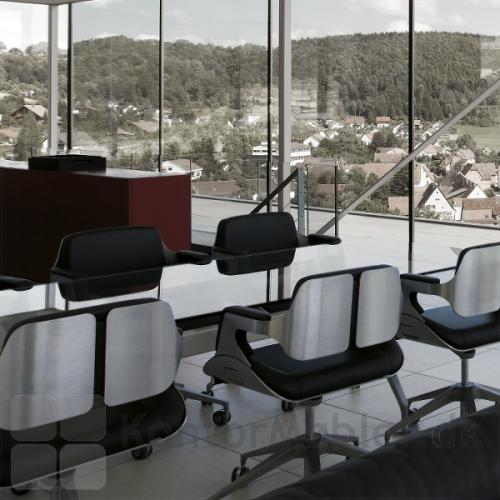 Silver 162S gæstestol til det eksklusive mødelokale
