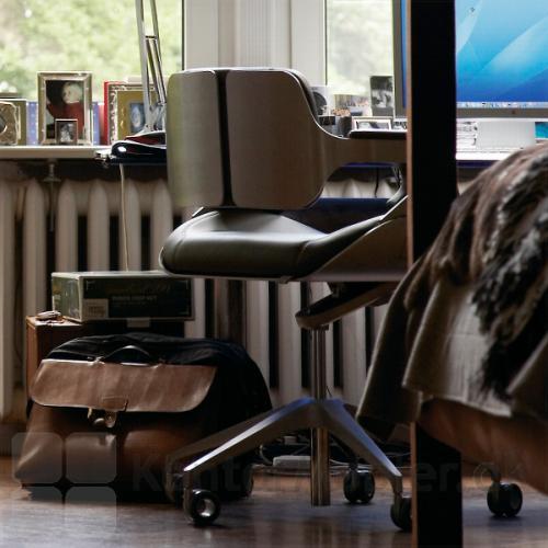 Silver 162S kontorstol er flot til den lille kontorarbejdsplads i hjemmet