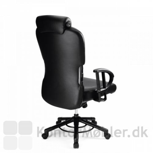 XXXL kontorstol med høj ryg
