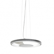 Light Disc Pendel med transparent ramme