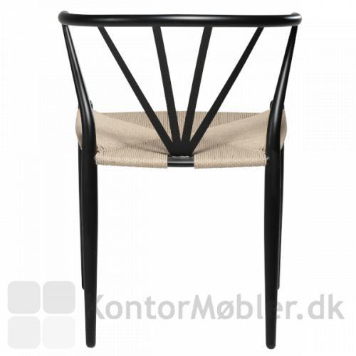 Delta fletstol fra Dan-Form til restauranten eller hjemmet.