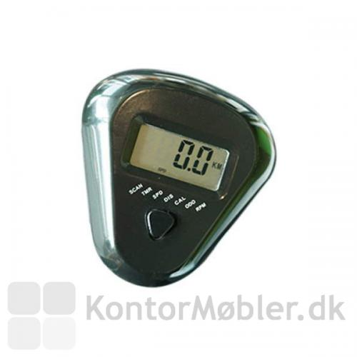 Easy Deskbike Kontorcykel har mange funktioner, herunder kalorietælling og måling af km