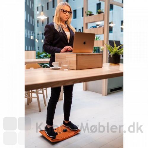 Gymba Board sikrer dig en arbejdstilling uanset hvor du er