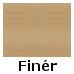 Bøg finér (95,-) (2-423-40)