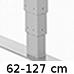 3-leddet rektangulær (570,-)