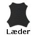 Sort læder (1.370,-)