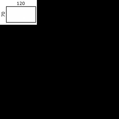120x70 cm (0,-) (MO 8591-1)