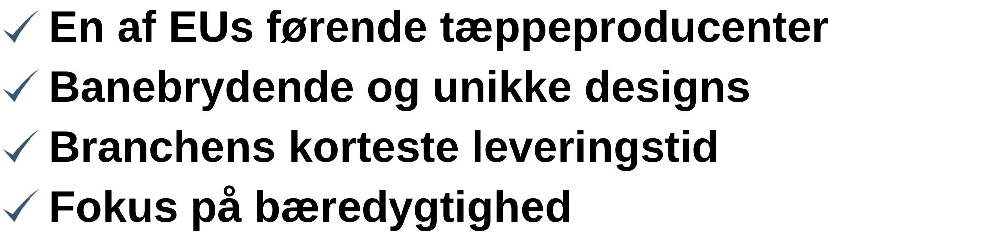 egetæpper logotekst