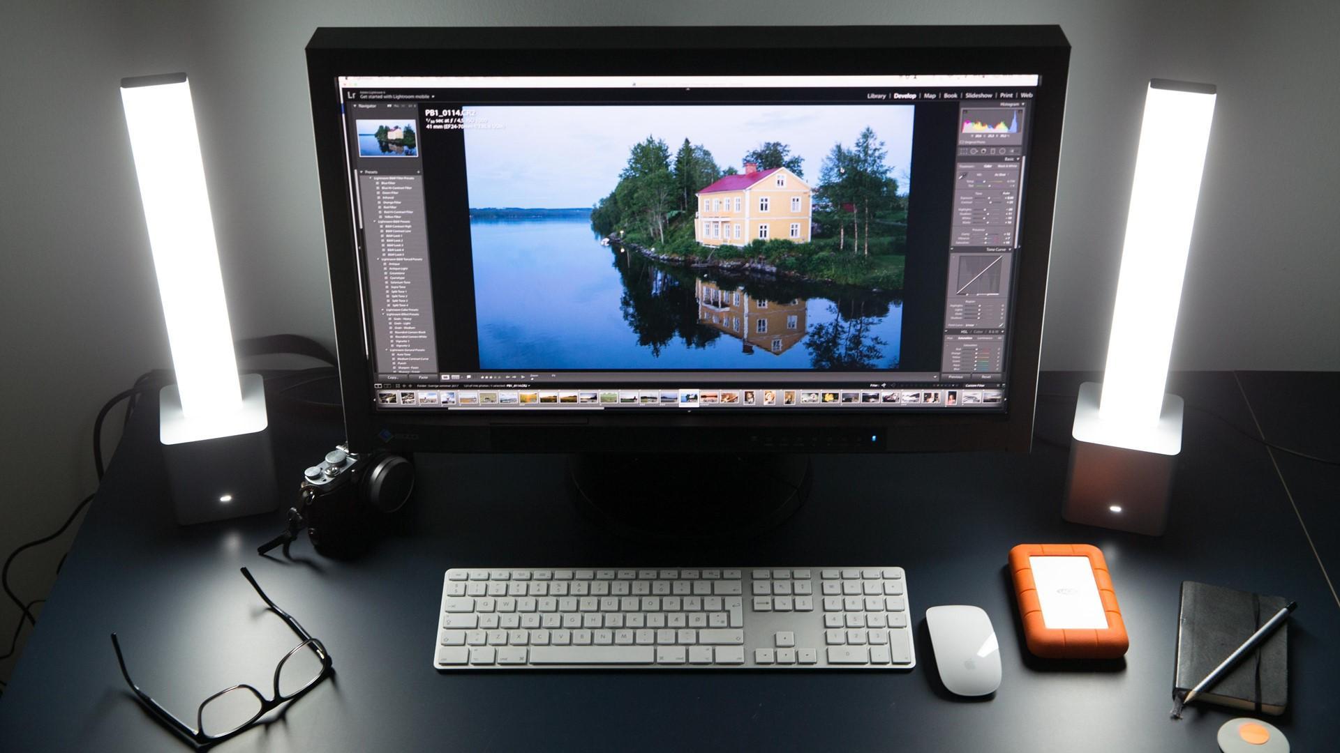 photo editing dark desk 45 degrees 1281
