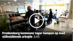 billede og link til TV2 artikel om dårlige siddevaner på jobbet