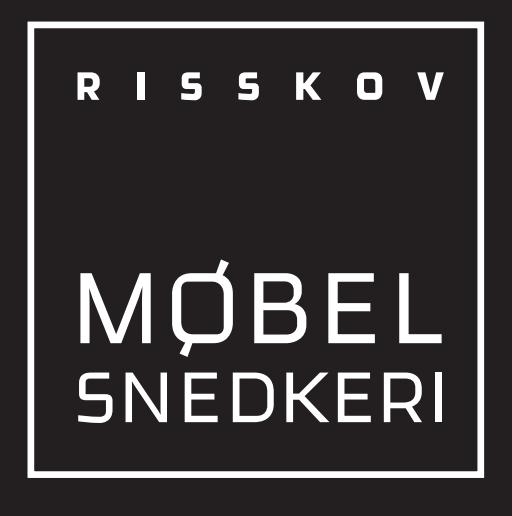 Risskov Møbelsnedkeri logo
